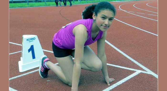 Tamsin is sprinting her way to athletics success