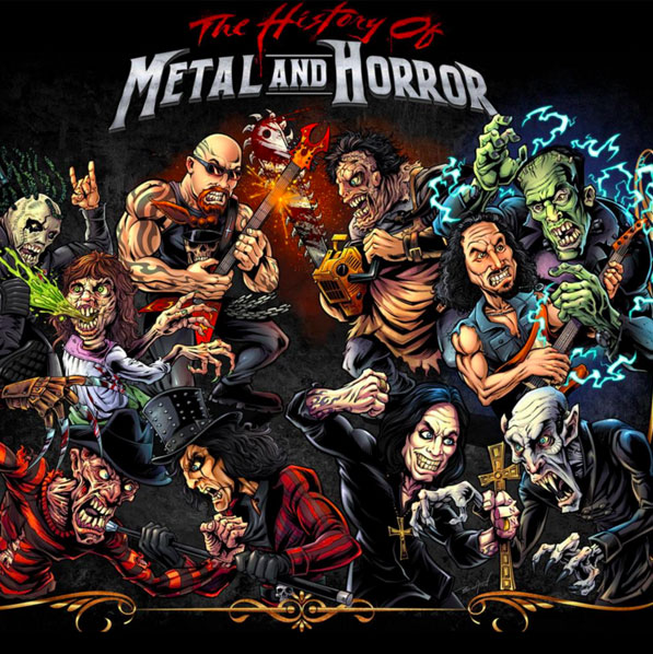 The History of Metal & Horror