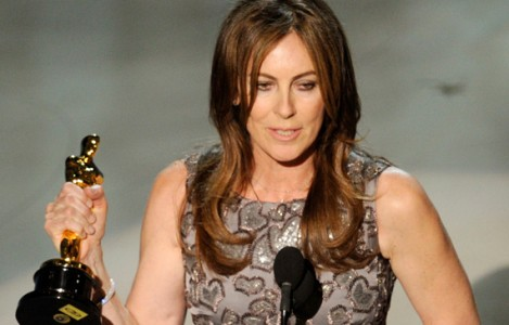 Kathryn Bigelow, the first woman to win an Academy Award for best director