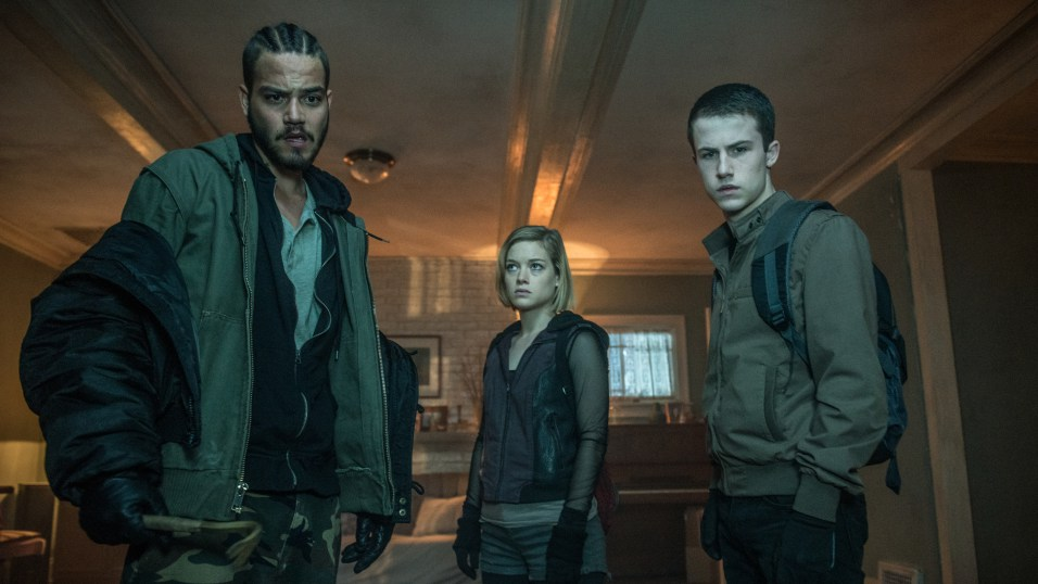 Daniel Zovatto, Jane Levy and Dylan Minnette star in Screen Gems' horror-thriller DON'T BREATHE.