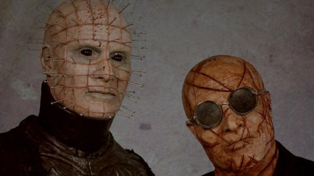 "First look at the new Pinhead and ""The Auditor"" from ""Hellraiser: Judgment"""