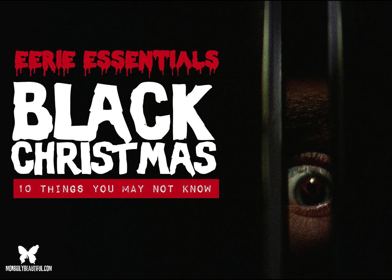 Eerie Essentials Black Christmas
