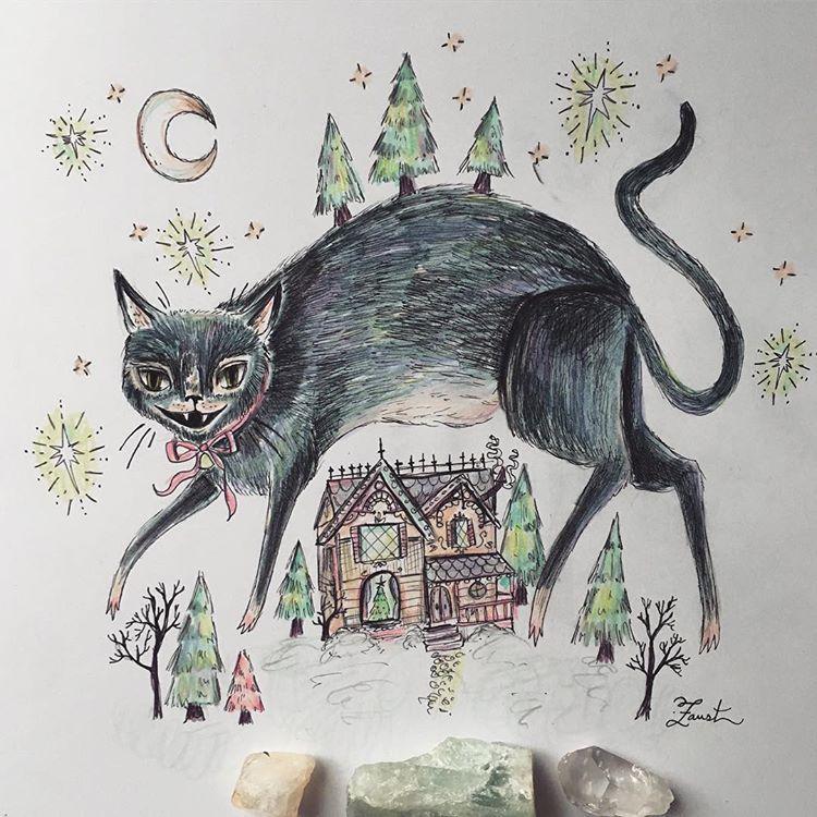 Yule Cat