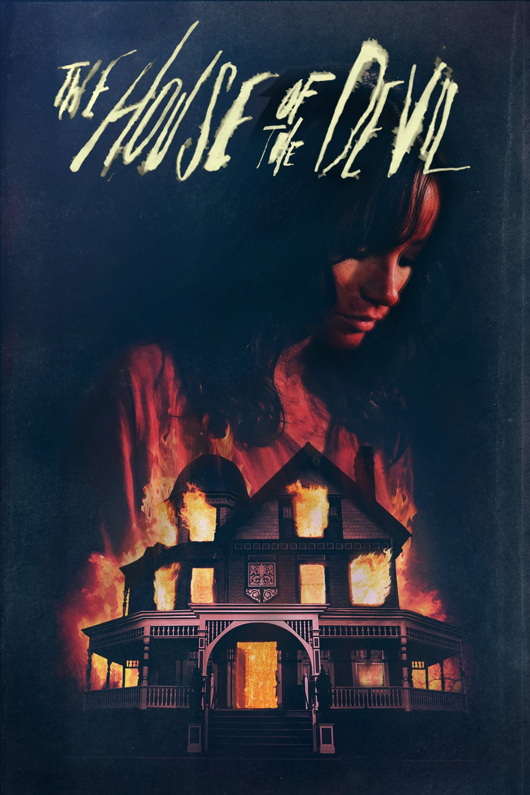 "Poster for the movie ""The House of the Devil"""