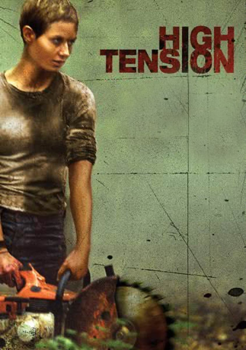 "Poster for the movie ""High Tension"""