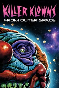 """Poster for the movie """"Killer Klowns from Outer Space"""""""
