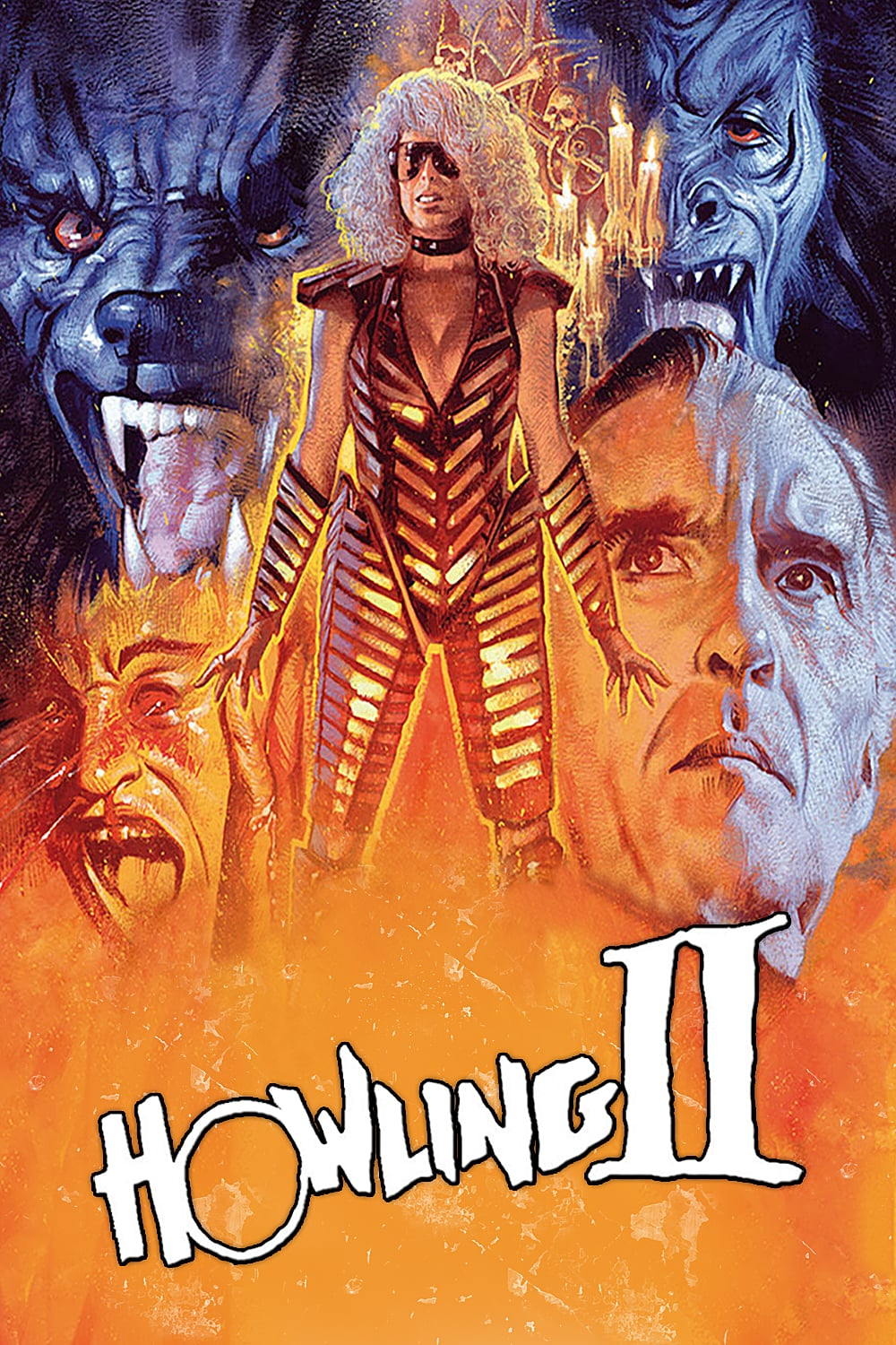 "Poster for the movie ""Howling II: Stirba - Werewolf Bitch"""