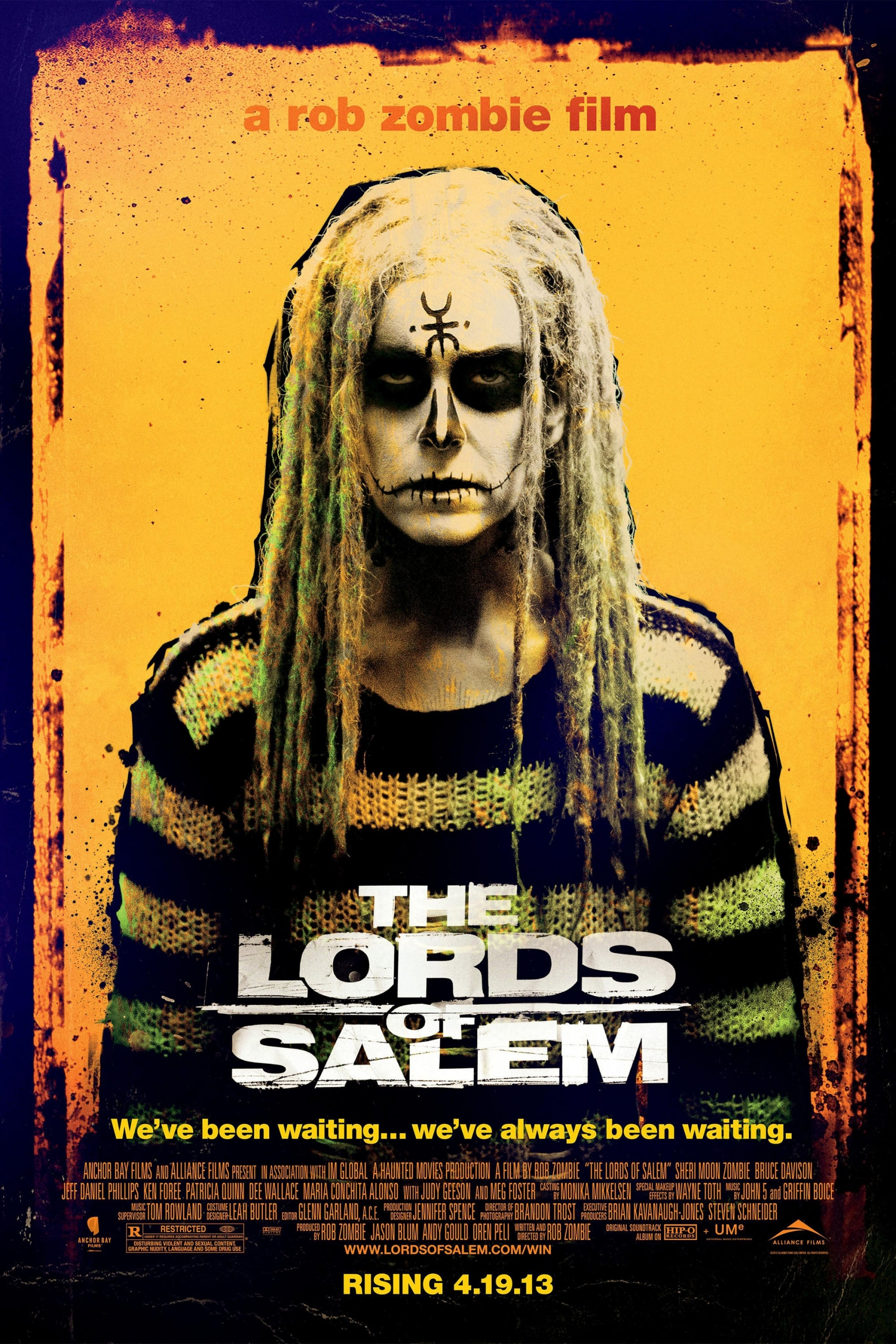 "Poster for the movie ""The Lords of Salem"""