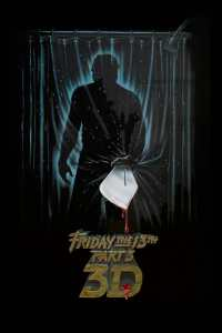 "Poster for the movie ""Friday the 13th Part III"""
