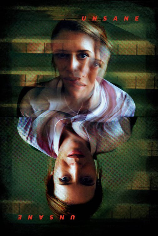 "Poster for the movie ""Unsane"""