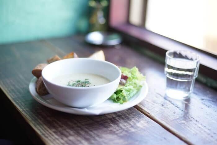 カフェ コチさんのスープセット