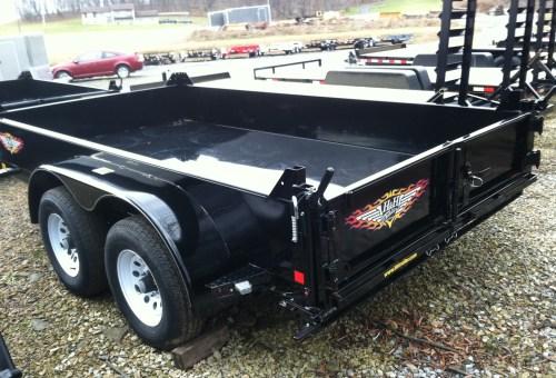 H&H Utility Dump Box Tandem Axle