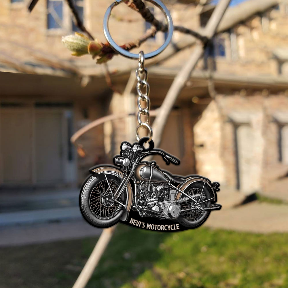 Motorcycle Lovers Personalized Keychain YDH22021062