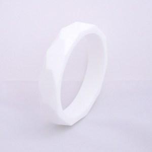 Pulsera de silicona mordedor white