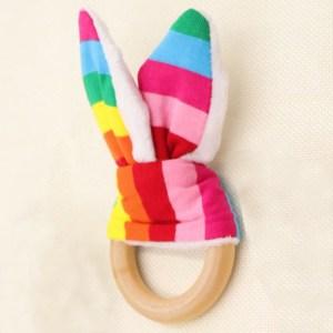 Mordedor Rabbit Rainbow de Mordisquitos