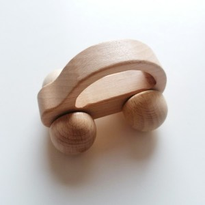 Coche de madera juguete bebé