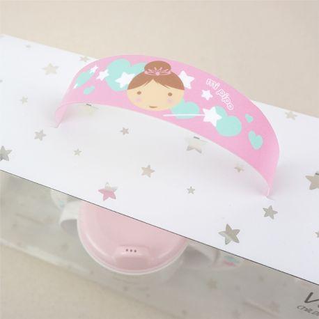 Vajilla hada personalizada para bebés y niños