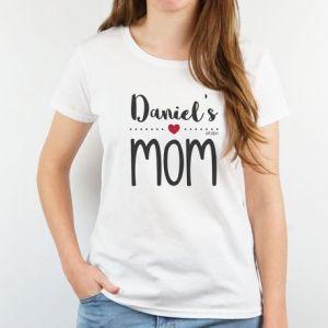 Camiseta personalizada proud mom dia de la madre regalo mama