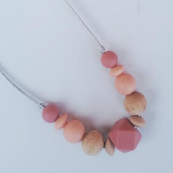 Collar de lactancia y porteo Brigit Mordisquitos silicone necklace nursing jewelry