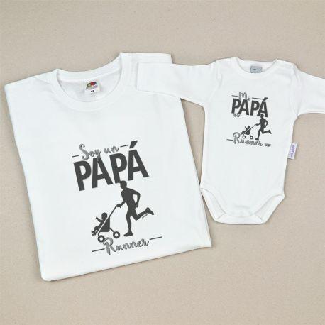 Pack prendas ropa familia runner regalo dia del padre