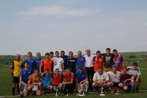Общее фото команд-призеров