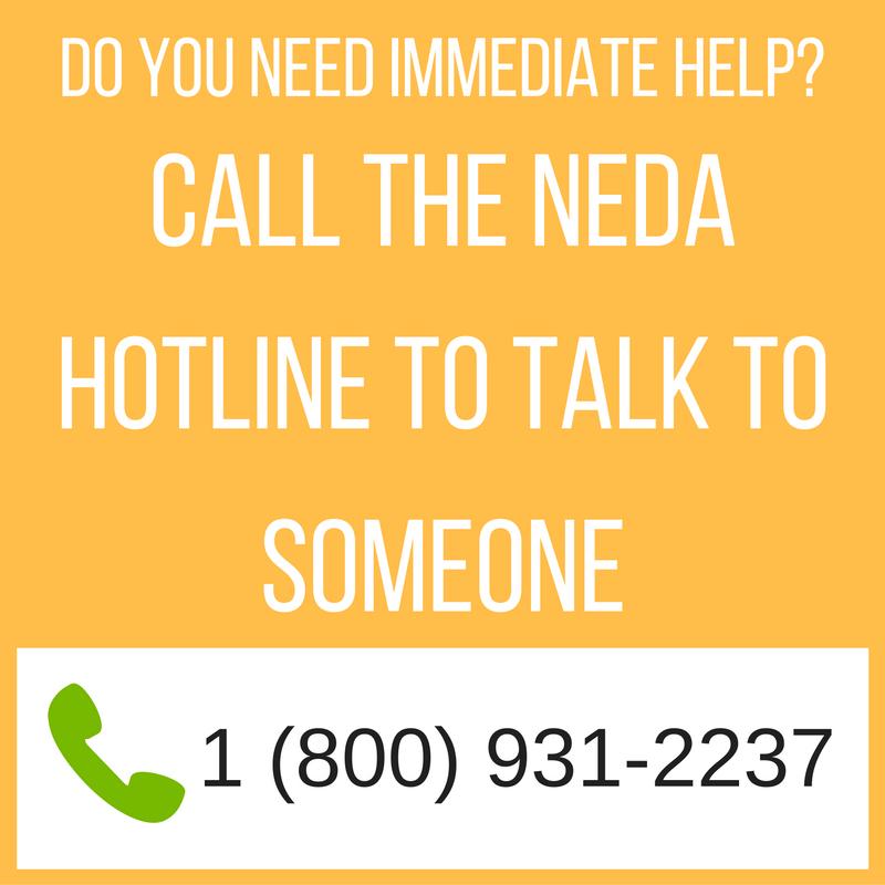 NEDA hotline