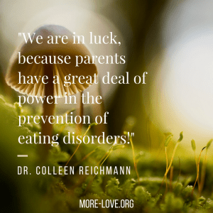 colleen Reichmann quote eating disorders