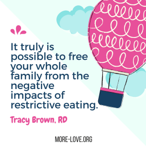 tracy brown quote eating disorders