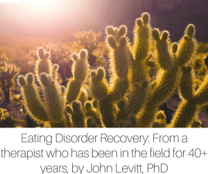 A Perspective on Eating Disorder Recovery_ From a therapist who has been in the field for 40+ years, by Dr. John Levitt