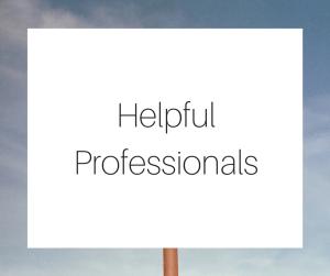 Helpful professionals