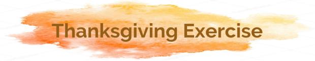 Thanksgiving Exercise