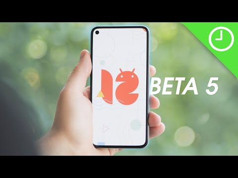 Android 12 Beta 5: Top new features!