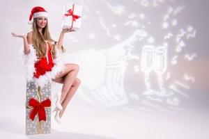 クリスマス 女性
