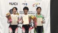 2017ジャパントラックカップ女子ジュニアスクラッチ