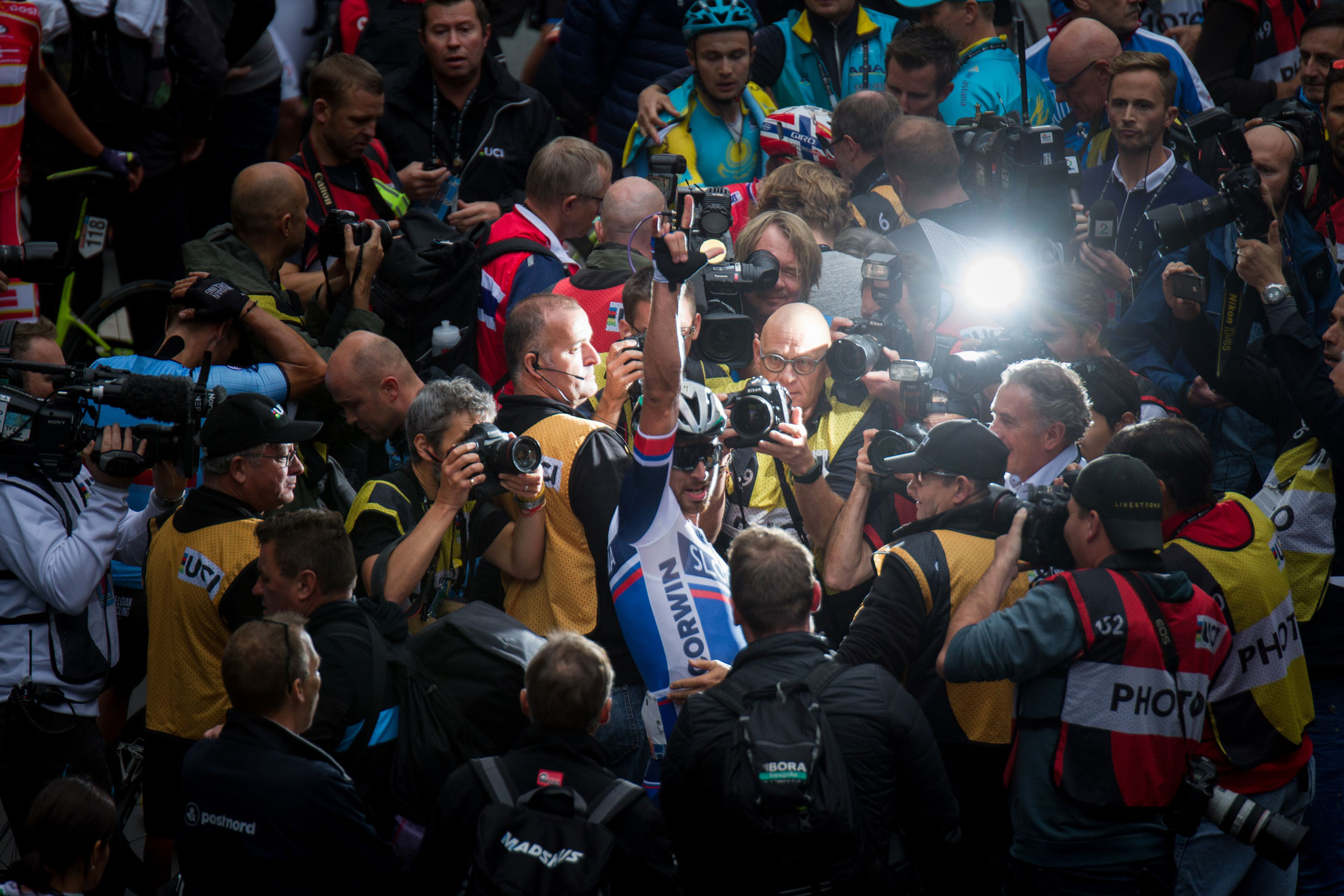 Sagan wins Road Race World Championship 2017