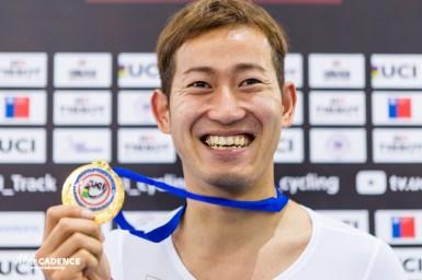 強豪を下し、脇本雄太が初のワールドカップ金メダル/2017-18トラックワールドカップ4戦男子ケイリン