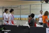 女子団体追い抜きチームにレース前日インタビュー/2017-18トラックワールドカップ第3戦