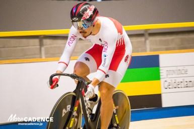 狙うは43秒7、渡邉一成チームスプリント&アジア王者としてスプリントへ出場/トラック世界選手権2018