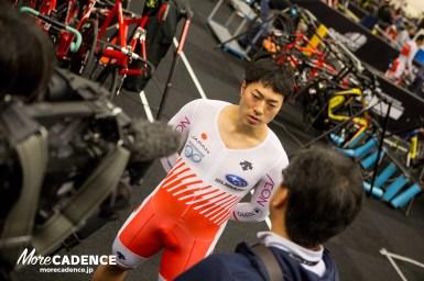 新田祐大、世界選手権チームスプリント「皆の想いを乗せて走る」/トラック世界選手権2018