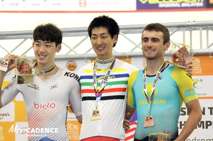 近谷涼が日本新記録&金メダル・団体に続き4km個人パシュートの2冠達成/アジア選手権トラック2018