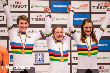 「この戦いは1人じゃない」ドイツ代表選手、UCI会長らがクリスティーナ・フォーゲルにエール