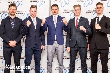 グレッツァー「全部のレースに勝つつもり」トラック競技の世界王者らが競輪のため来日