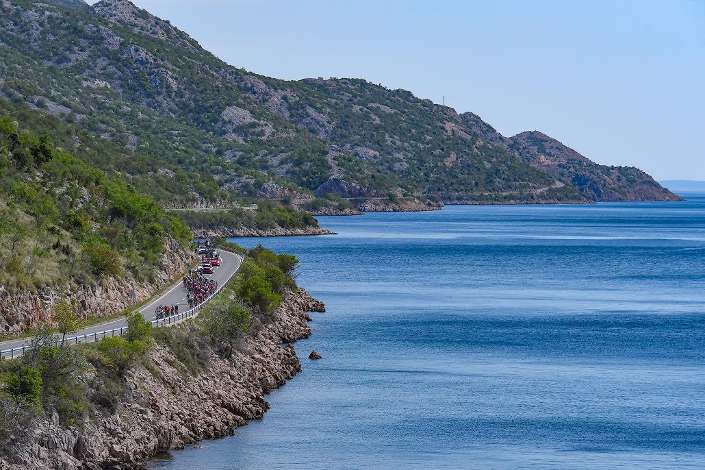 アドリア海の海岸線