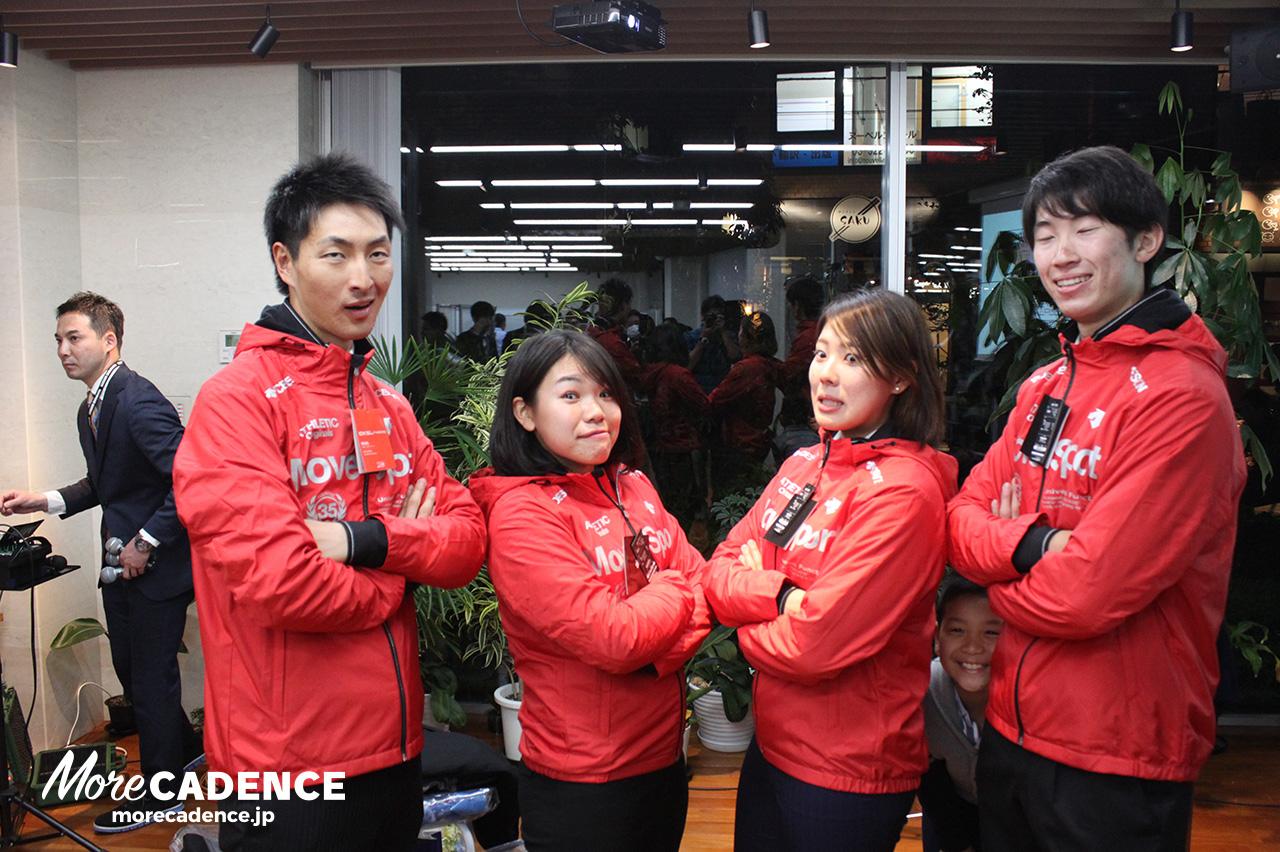 日本ナショナルチームの希少な変顔ショット