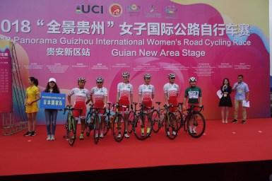 豪雨で梶原も落車、トラブル続く中でも成長感じる/PANORAMA Guizhou International Women's Road Cycling Race 第3ステージ