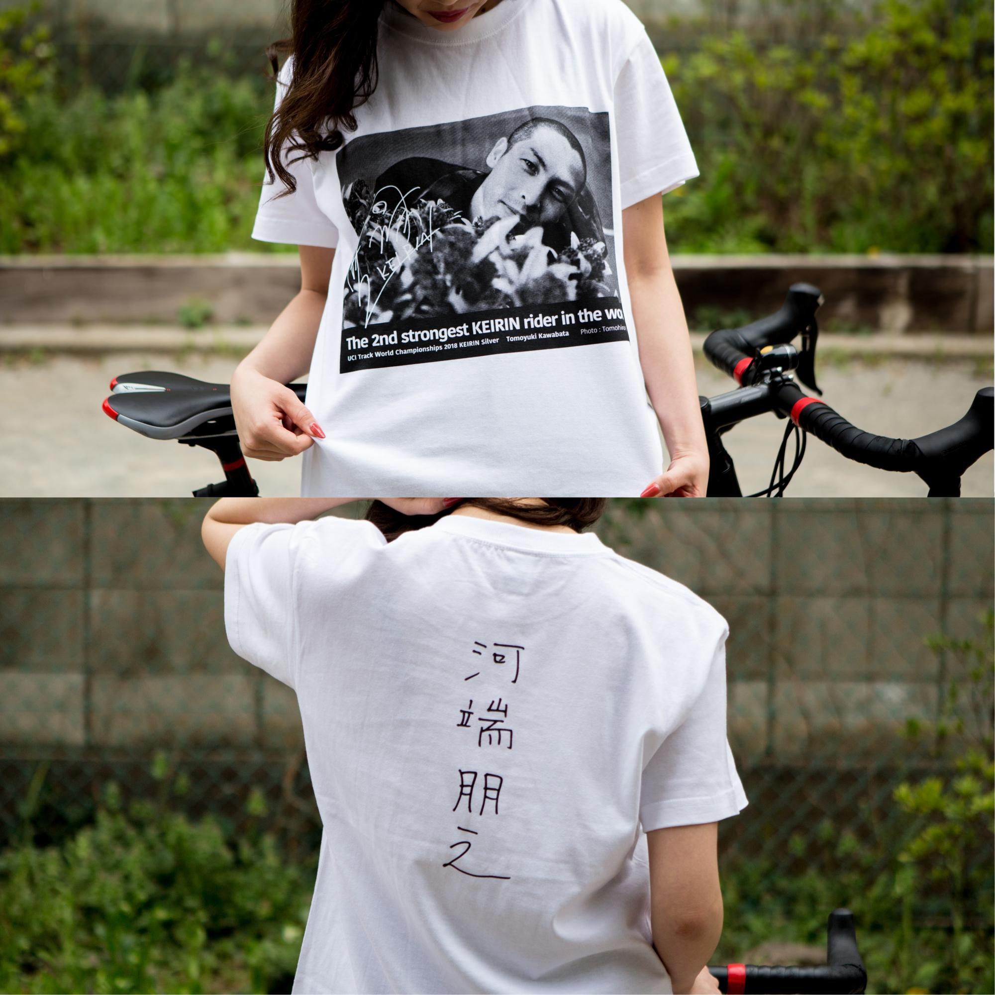 河端さんデザインTシャツ