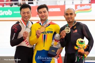 新田祐大が銀メダル獲得0.003秒の差・脇本雄太5位/アジア大会2018・男子ケイリン
