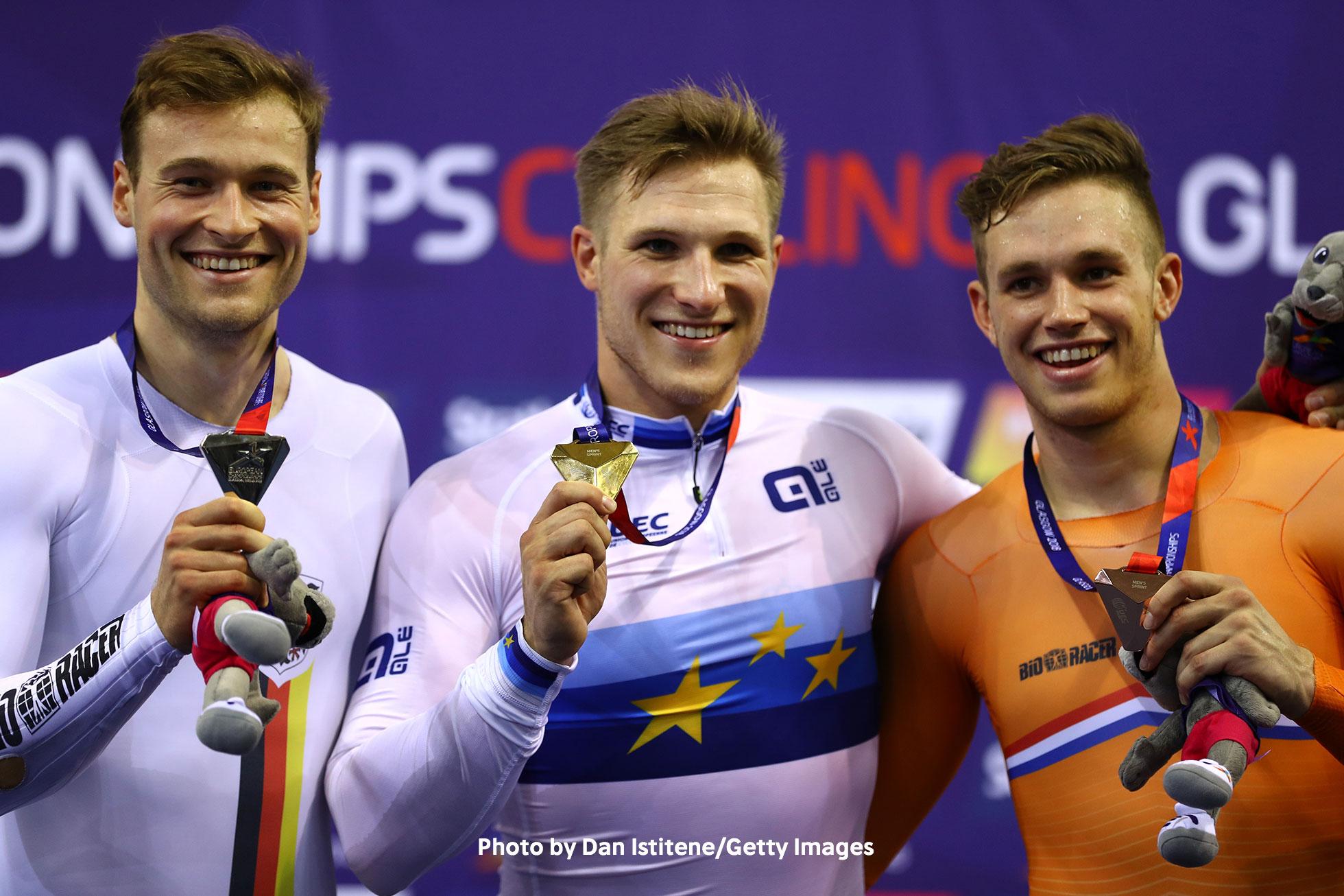 UECトラックヨーロッパ選手権2018・男子スプリント