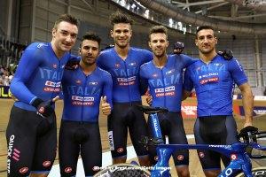 UECトラックヨーロッパ選手権2018・男子チームパシュート