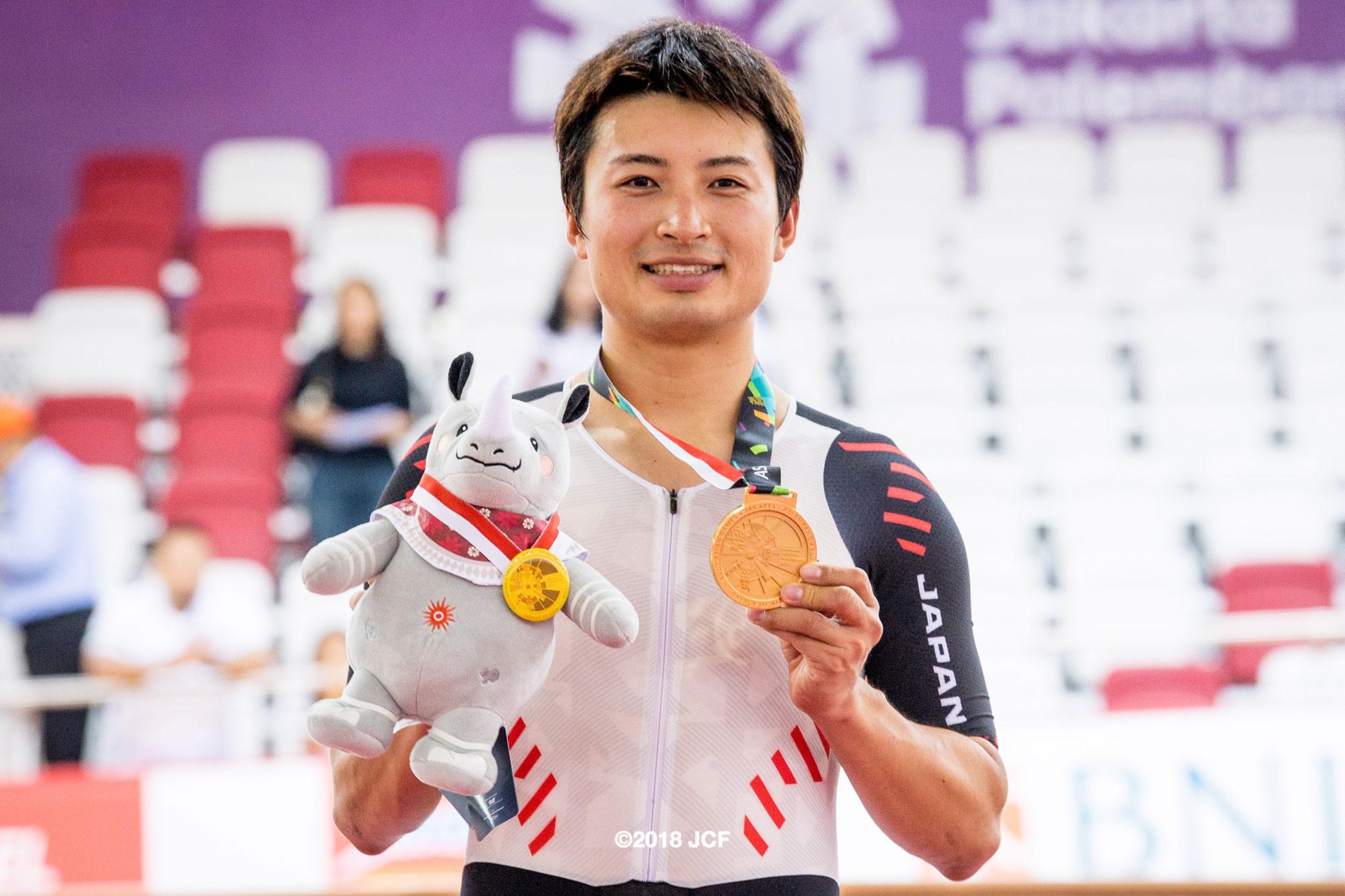 2018アジア大会男子オムニアム橋本英也